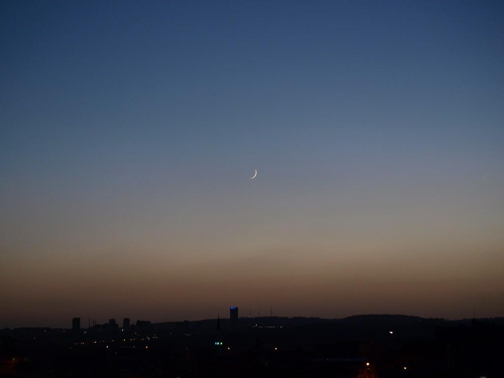 Ramazan Hilali Göründü!