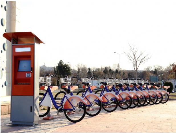 Gaziantep'te Kiralık Bisiklet Dönemi