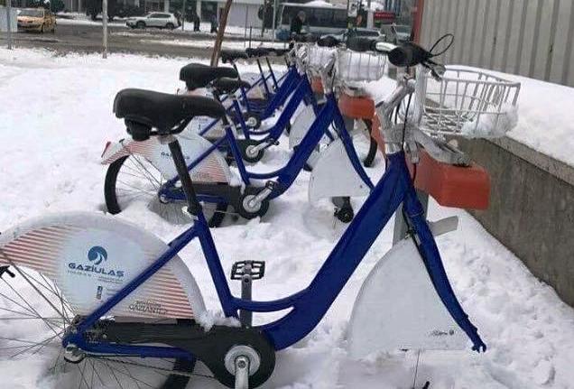 Kiralık Bisikletlere Bakın Ne Yaptılar