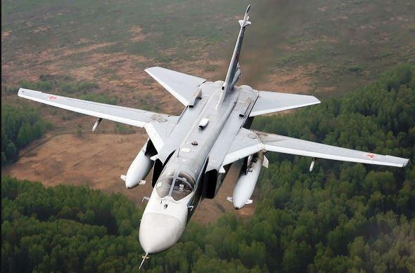 Suriye'de, RUS Savaş Uçağı Düştü